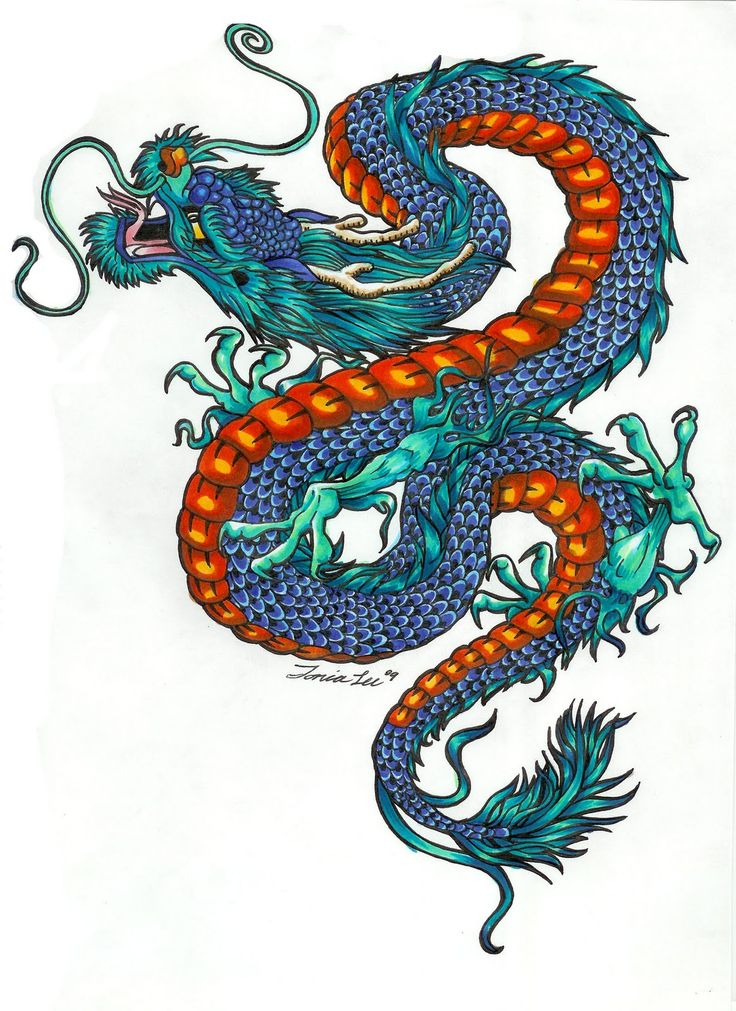 Eye For Design Bohemian Interiors And Accessories: Color Dragon Tattoo Designs With Pictures