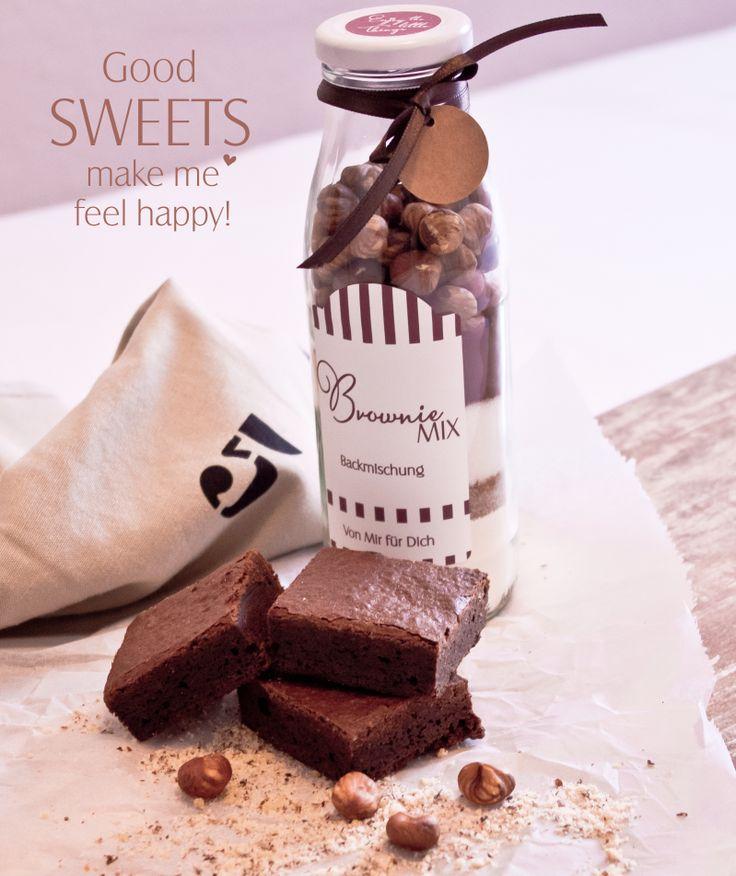 Homemade Brownies inkl. Rezept und Verpackungsideen