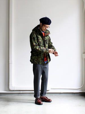 nanamica GORE-TEX Camouflage Cruiser Jacket