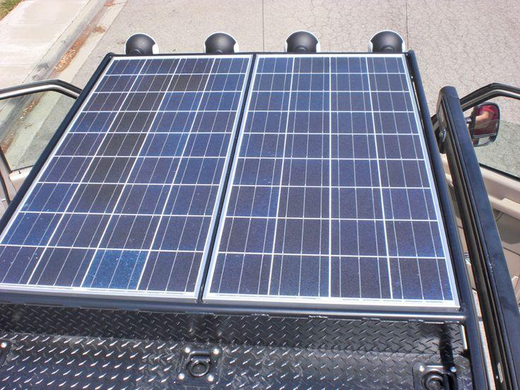 Aluminum roof rack Solar Panel Mount Roof rack