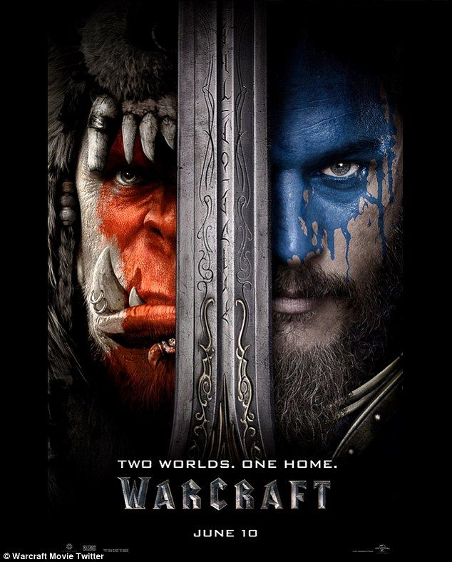 WoW: First World Of Warcraft poster has been unveiled four days ahead of the much-anticipated first trailer