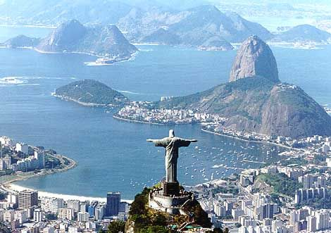 Rio de Janeiro... viva Brazil and Carnival, baby! Gabi, we must go here and lay on the beaches, eat the food, mingle with the locals... and of course, get a brazilian wax!