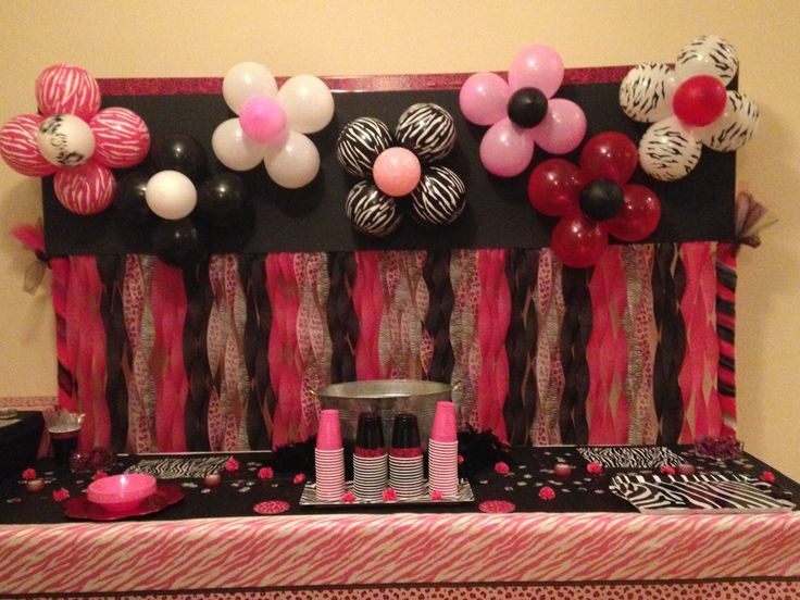 Best 25 streamer wall ideas on pinterest party wall for Balloon and streamer decoration ideas