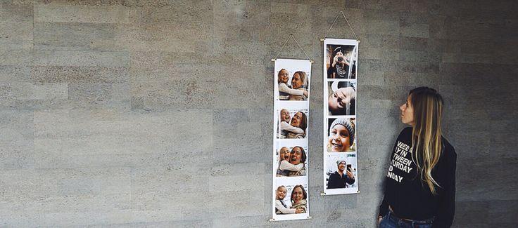 WallStrips в стиле Instagram! Большие, яркие, супер-глянцевые полоски подходят для любого интерьера - квартира, загородный дом или промышленный Loft. Загружайте свои фотографии или фото друзей из Instagram, соц. сетей, компьютера и мобильного устройства!