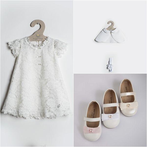 Μπολερό, χειροποίητο φόρεμα, παπούτσια BABYWALKER... OLA 119,00 ! ΣΤΟ ΗΛΕΚΤΡΟΝΙΚΟ ΜΑΣ ΚΑΤΑΣΤΗΜΑ θα βρείτε τα ομορφότερα βαπτιστικά! www.angelscouture.gr