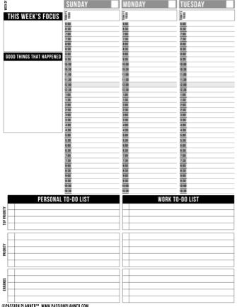 rituals for living planner pdf