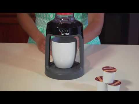 Manual Brewing Cup Dispenser | Single Cup Coffee Maker, Coffee Pods | UncommonGoods