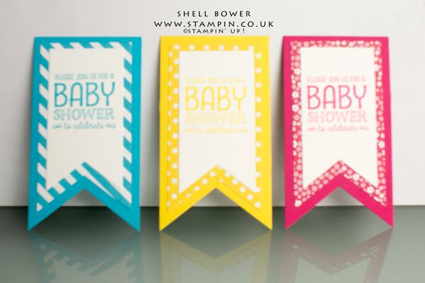 Stampin' Up! Sweet Li'l One Baby Shower Tag
