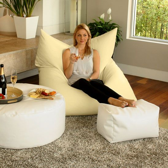 Designer Bean Bag In A King Single Size Designed For Indoor And