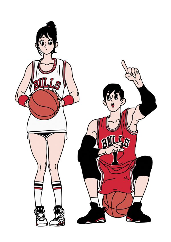 김정윤, Jungyoun Kim, Basketball Girl & Boy