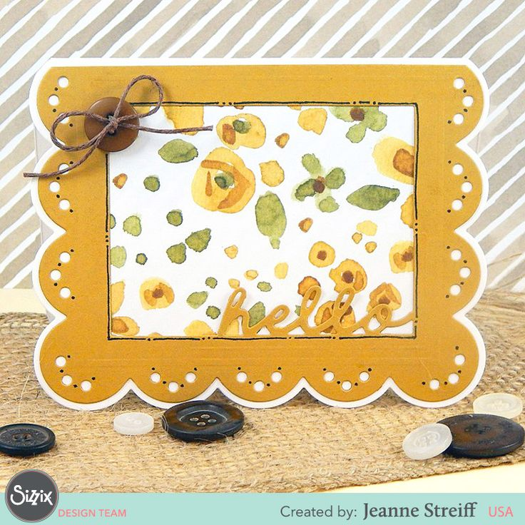 Sizzix Drop-Ins by Stephanie Barnard turn cardmaking to fast and simple without losing the lovely factor!