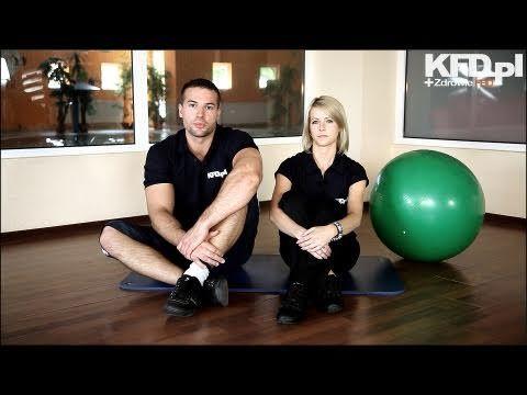 Ćwiczenia na kręgosłup (ból pleców)  [www.KFD.pl] - część I