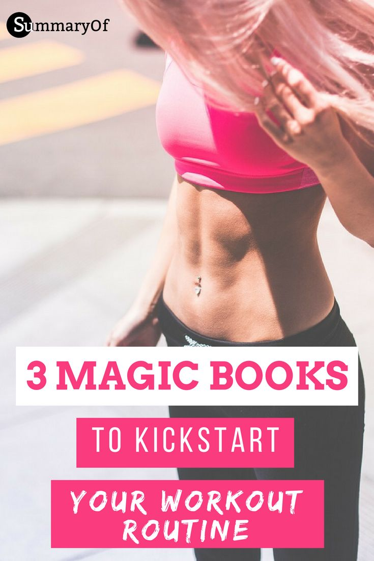 Are you kicking off a new workout routine for better health 2017? These three books will help you. #routine #diet #workout #fitness