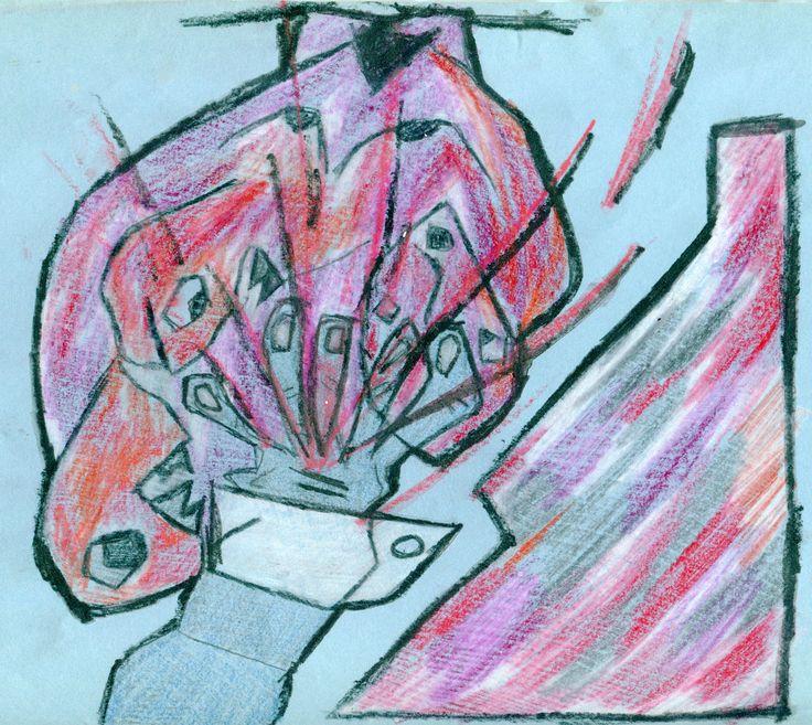 https://flic.kr/p/YQM91f | Fontanna krwi. Ilustracja do Artauda.