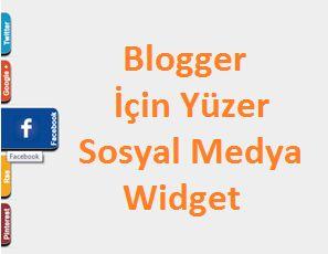 Blooger sitesi olanlar için özel olarak oluşturulmuş sayfa ile birlikte hareket eden bu oldukça şık blogger eklentisini gadget olarak yükleyerek sitenize oldukça güzel bir görüntü vermiş olursunuz.