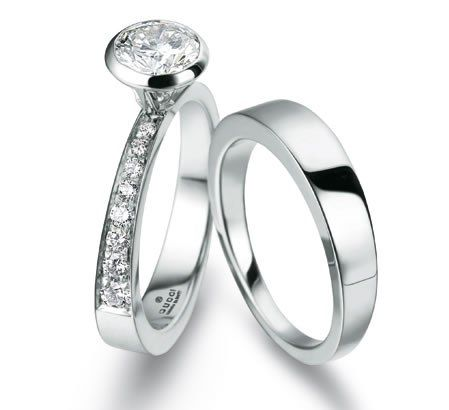 Amazing think i am leaning towards a solid thin band since my engagement ring has a lot