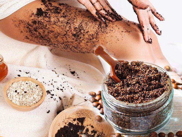Ukloniti celulit pilingom od kafe