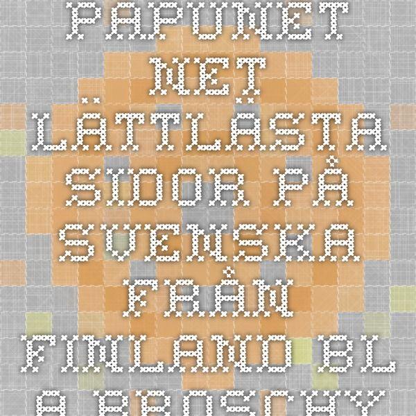 papunet.net -  lättlästa sidor på svenska från Finland. Bl.a broschyrer i pdf om t.ex. pengar, demokrati och mat.