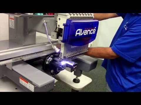 Best Commercial Embroidery Machine for the Price - Avance - YouTube