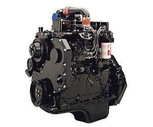 4BT (3.9 liter) Cummins diesel engine
