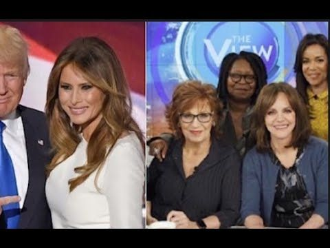 "THE ""VIEW"" SET TO BE CANCELLED AFTER HOST INSULT DONALD AND MELANIA TRUMP! - YouTube"