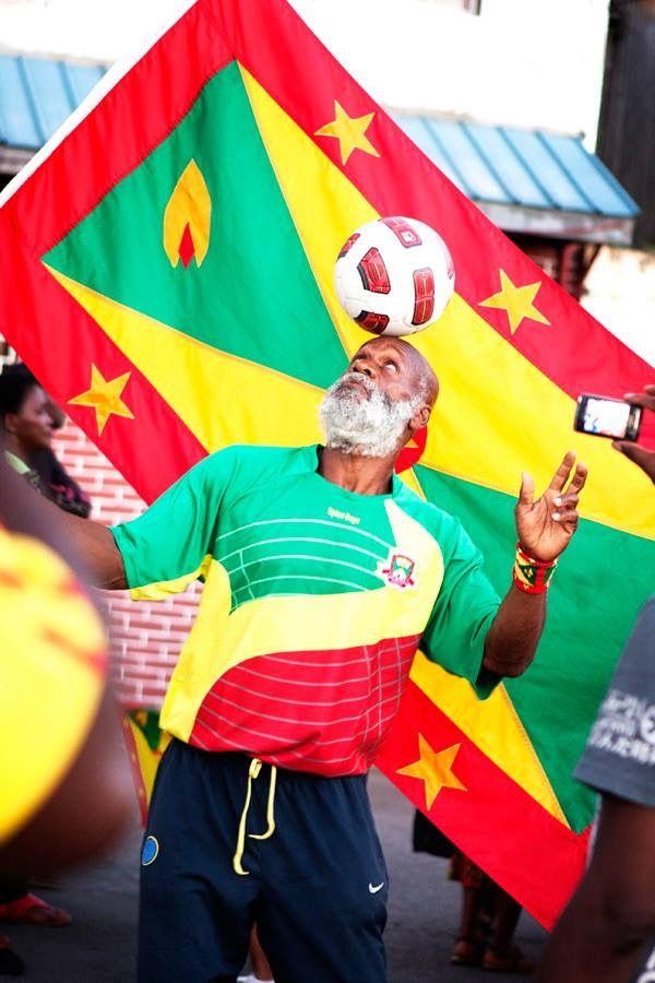 Grenada 🇬🇩 Man in Caribbean Connection USA   Grenada in