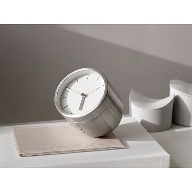 TUMBLER ALARM CLOCK  Tumbler by the Danish duo, Norm, is a modern variant of the classic alarm clock. With its rounded bottom and no- tilt design, the NORM Tumbler alarm clock is decorative, practical and fun to interact with.  The Tumbler is extremely iconic design and functionality. When the alarm goes off, waking you – you simply take the clock and turn it upside down to stop the alarm. It is a fabulously decorative piece and, therefore, it is equally useful on your office desk, next to…