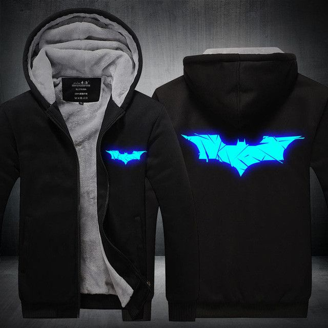 Batman DC Comics Thick Hooded Jacket (50% Off +Free Shipping)