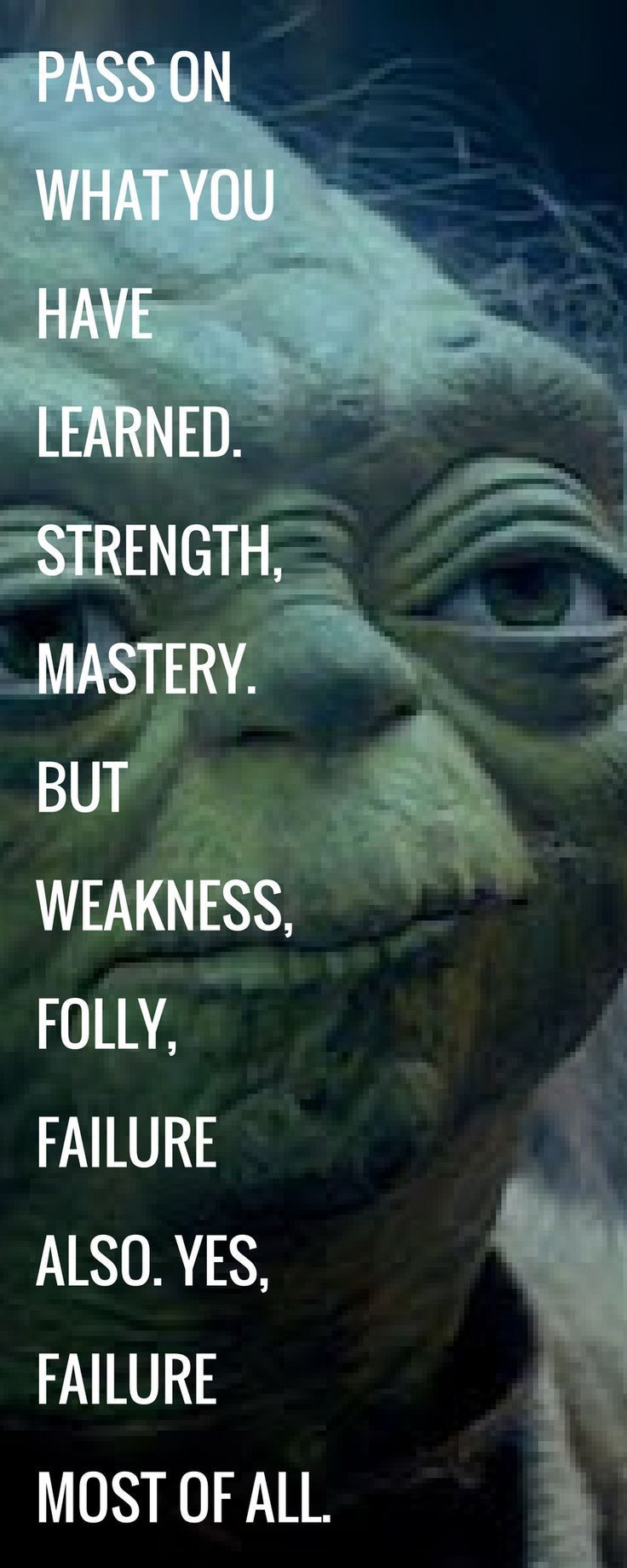 Starwars Quotes Yoda Love Star Wars Pinterest Star Wars