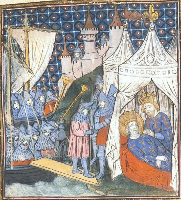 BL Royal 20 C VII Chroniques de France ou de St Denis