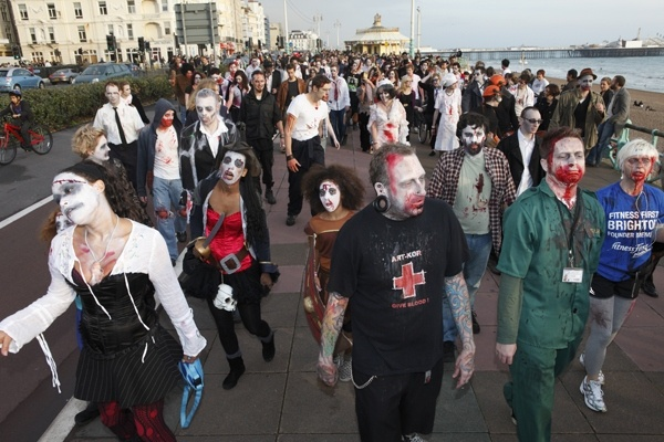 CDC to America: There Is No Zombie Apocalypse - After a week of bizarre crimes, the Centers for Disease Control would like to reassure Americans that a zombi-virus outbreak is exceedingly unlikely.