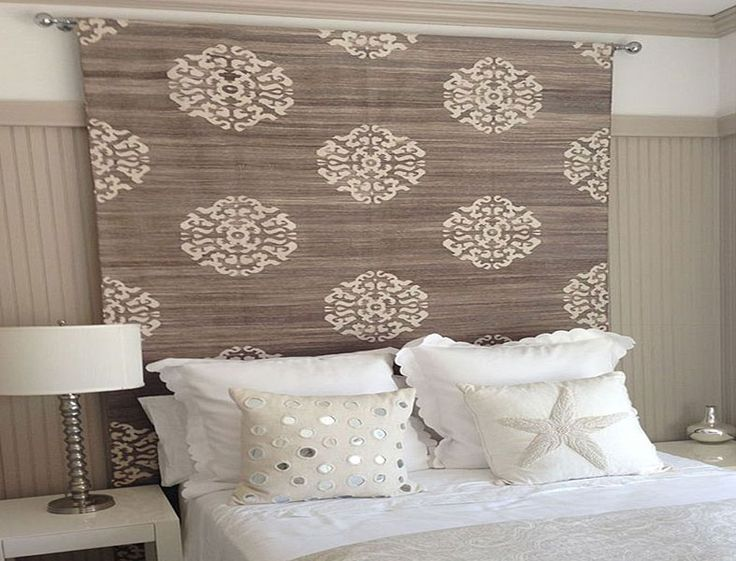 Add A Soft Touch Of Texture To Your Bedroom By Hanging A Rug On The Wall As  A Headboard Alternative.