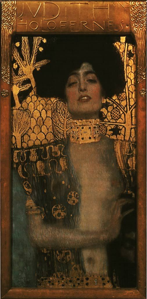 Judith I 1901: Favorite Artists, Art Nouveau, Oil On Canvas, Klimt Judith, Art Inspiration, Artsy Fartsi, Gustav Klimt, Gustavklimt, Art Illustration