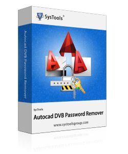 AutoCAD DVB password remover software allow users to crack/break AutoCAD DVB password easily