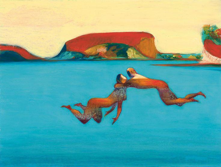 Nell'acqua, 2001. - (Lorenzo Mattotti)