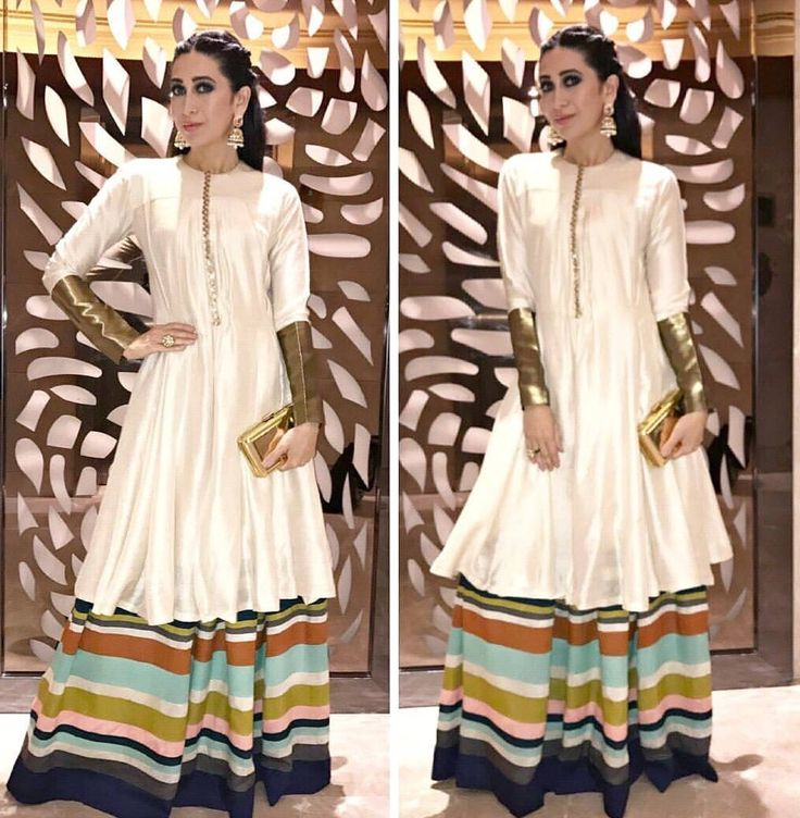 Karisma Kapoor in white dress