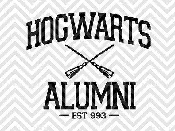 Hogwarts Alumni Harry Potter By Kristin Amanda Designs
