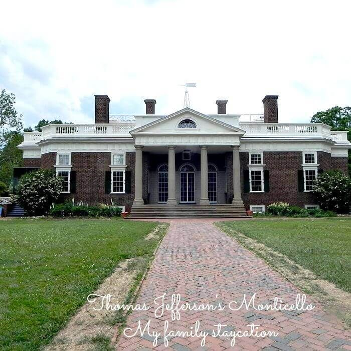 Thomas Jefferson's Monticello - My family staycation  #Snackation Destination #adFee