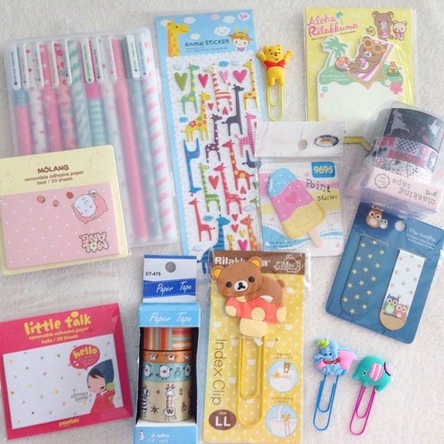 Cute office supplies