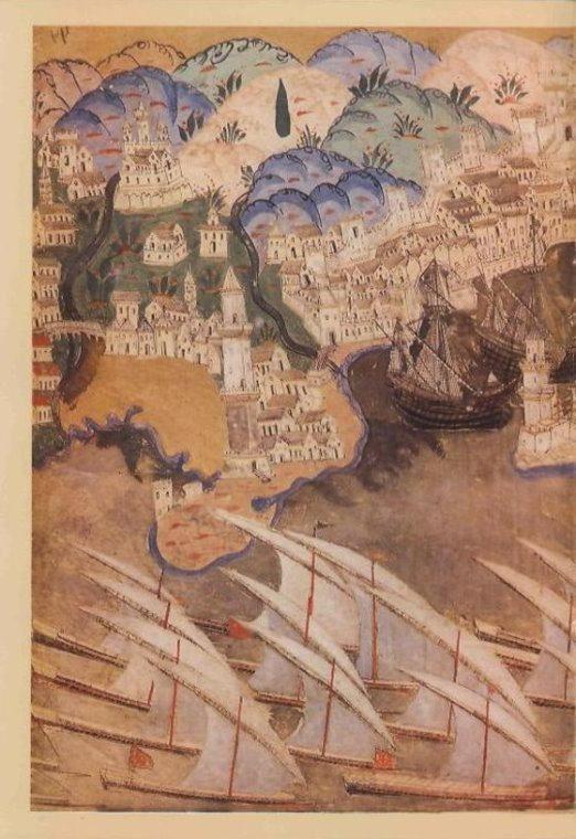 Cenova-Matrakçı Nasuh-Estergon Kalesi'nin Fethi-1543