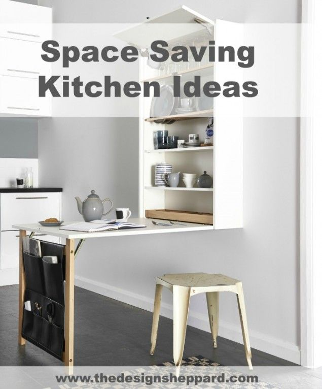 1000 ideas about space saving kitchen on pinterest for Small kitchen space saving ideas