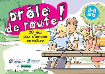 26 activités pour distraire les enfants pendant un long trajet en voiture.