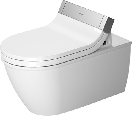 Duravit Darling NEW 254409 Toilet Wall Mounted for SensoWash - White