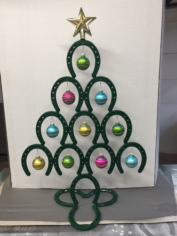 Best 25+ Horseshoe christmas tree ideas on Pinterest | Horseshoe ...