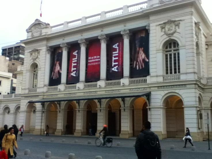 Teatro municipal.