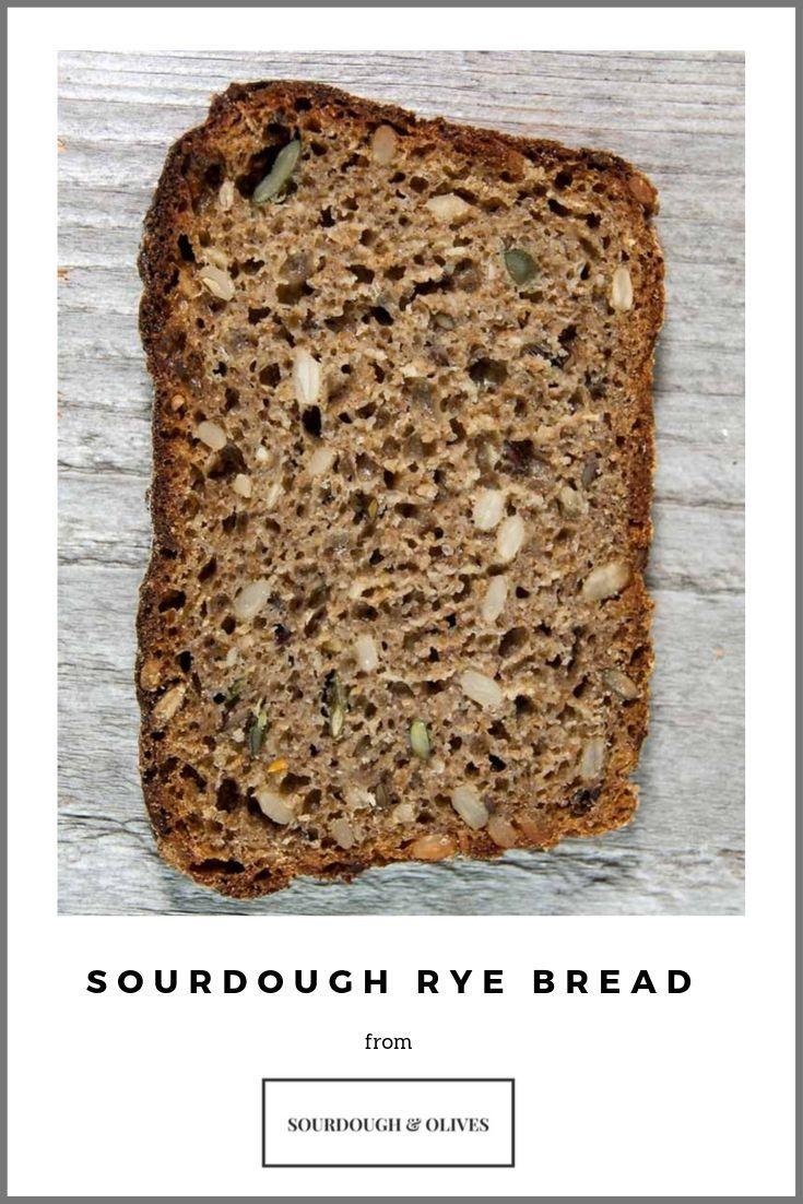 Traditional Swedish Whole Rye Bread Sourdough Olives Recipe Bread Rye Bread Sourdough
