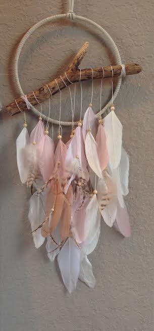 VENTE ! 15 % de réduction ! Bois flotté Cerqueira - rose, blanc, or - lunatique - pépinière de wishbone