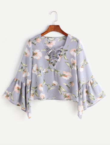 girl heaven floral shirt