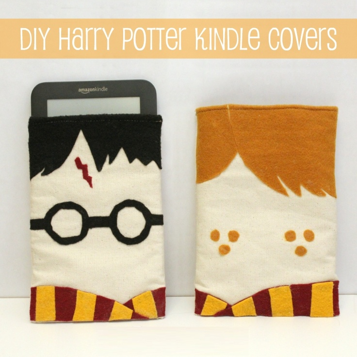 DIY Harry Potter Kindle Covers! Or Laptop Covers!!