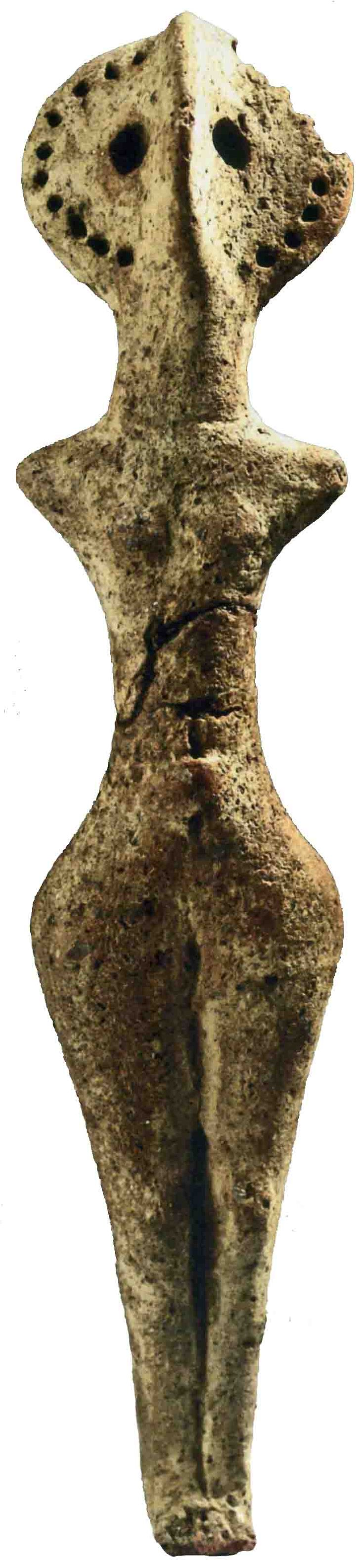 The Cucuteni-Trypillian culture, is a Neolithic–Eneolithic archaeological culture which existed from approximately 4800 to 3000 BC from the Carpathian Mountains to the Dniester and Dnieper regions in modern-day Romania, Moldova, Ukraine.